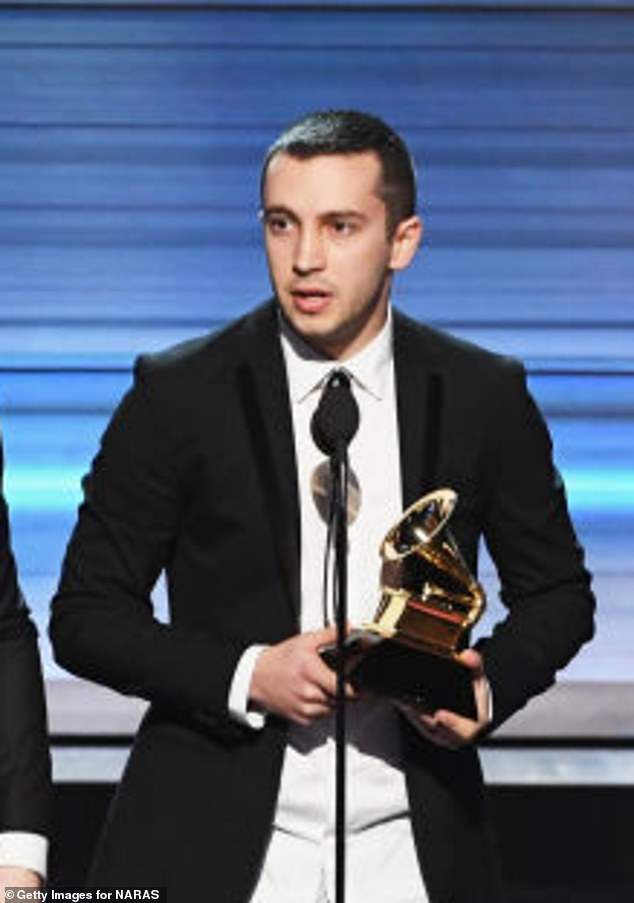 The latest: Twenty One Pilots musician Tyler Joseph, 31, apologized after making a joke about hiring his large social media platforms on Wednesday. He was snapped at the Grammys in 2017