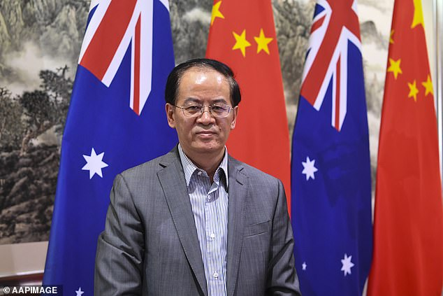 In April, China's ambassador to Australia Cheng Jingye threatened boycotts of wine, beef and university education as punishment for Australia speaking out on COVID-19 in Wuhan
