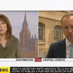 Matt Hancock grilled over envoy role for 'homophobe' Tony Abbott