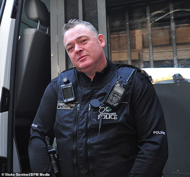 Lee Tatton, 54, appeared on UKTV's fly-on-the-wall documentary Cops UK: Bodycam Squad as a response officer covering Hanley in 2016
