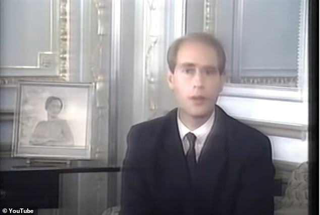 Ardent's big break came in 1996 with Edward on Edward, a documentary fronted by the prince about Edward VIII, his abdication in 1938 and his subsequent controversial life. Pictured: a still from the show