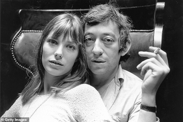 Way back when: During her marriage to Gainsbourg, they became a celebrity couple and she regularly featured on magazine covers
