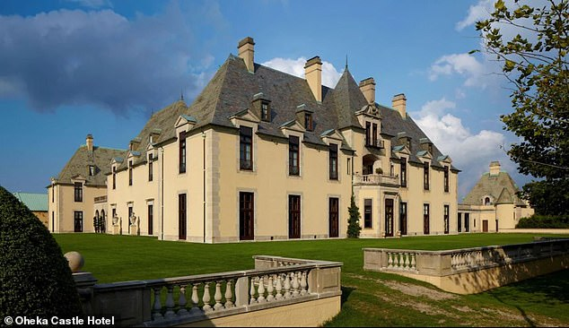 Around 1,000 venues plan to join or have already joined the suit. The famed Oheka Castle and Estate (pictured) confirmed to DailyMail.com it supports the suit