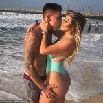 Chloe Ferry flaunts her two stone weight loss in a busty bikini in Marbella