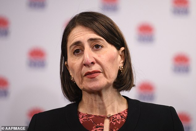 NSW Premier Gladys Berejiklian (pictured) said Queensland's guideline for reopening its border is a 'pretty tall order'