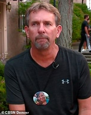 Andrew Moorman (pictured) is organizing his own search for his sister Suzanne Morphew