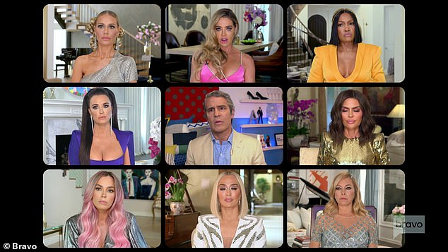 The Shady Bunch: The group get together to discuss more drama and in-fighting in the show