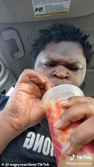 Heartwarming: In a recent video, he taste-tests TikTok star Charli D'Amelio's official Dunkin' coffee order to show his support for her