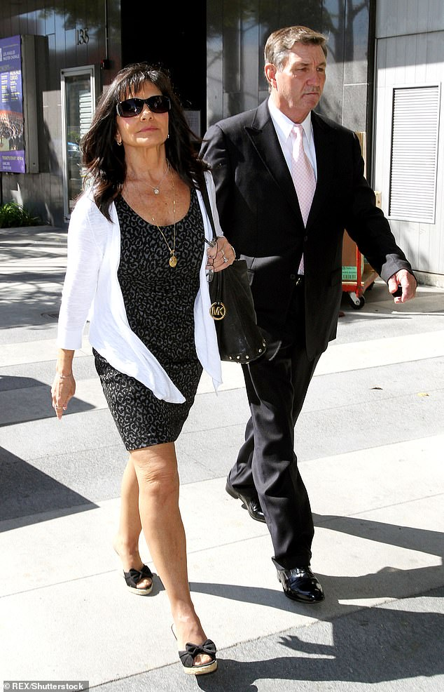 The story: Jamie was made her daughter's Curator in 2008 following his very public break-up, but resigned last year due to lingering health issues and Britney now wants the temporary curator made permanent (Jamie and Lynne Spears in 2012)