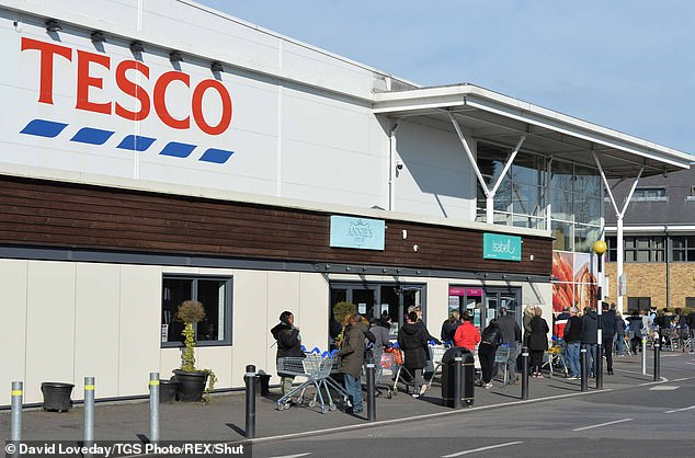 Tesco customers have complained about a new voluntary shopping scheme which sees the bill rounded up to the next pound with the money being shared equally between three charities