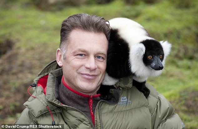 Within hours of Mr Davie's speech, Mr Packham (pictured) took to Twitter calling for people to sign a petition and railed against a stag hunt