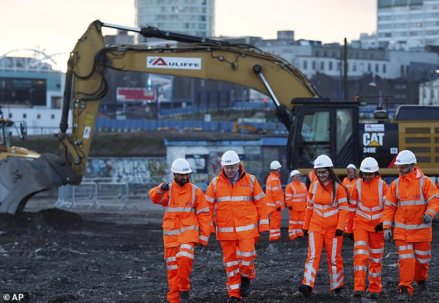 Given the go-ahead on January 10, 2012, Europe's largest infrastructure project will today move from enabling works to full construction – with shovels finally going in the ground