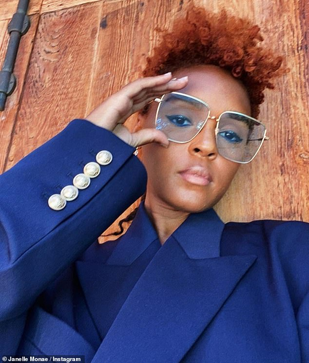 New look:Janelle Monáe showed off a foxy new hairdo Thursday on social media after a fresh haircut and coloring