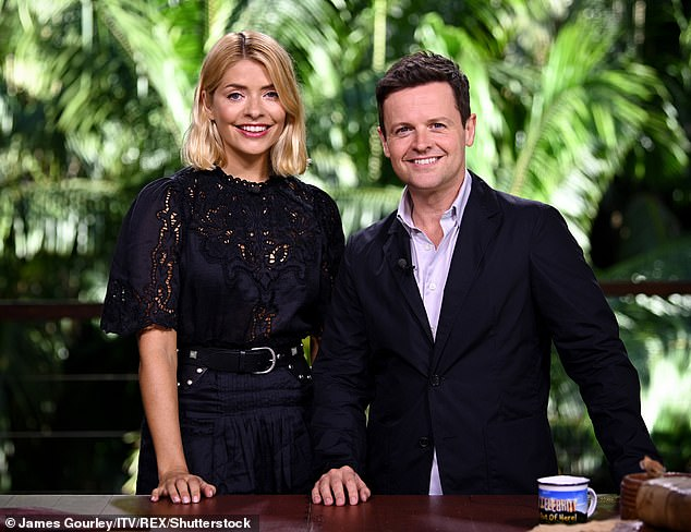 Right choice:Declan Donnelly has revealed he refused to present the 2018 series of I'm A Celebrity with another man, and insisted Holly Willoughby was 'top of the list'