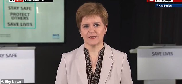 Scottish First Minister Nicola Sturgeon called Mr Abbott's comments 'disgraceful' after labelling him a 'misogynist, sexist and climate change denier'
