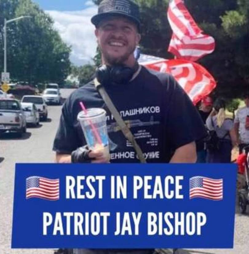 The victim of Saturday night's shooting in Portland was Aaron 'Jay' Danielson. He was a member of the right-wing group Patriot Prayer and also used the last name Bishop