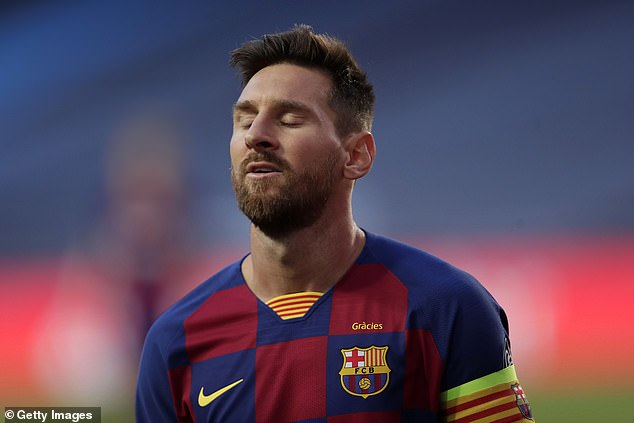 Messi told the club he wanted to leave last month after growing tired of the club's leadership