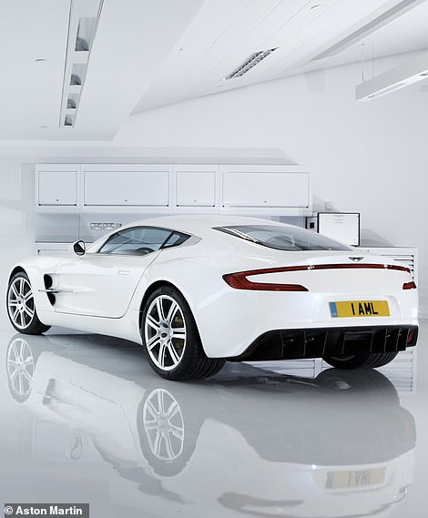 Just 77 examples of the road car were built, each priced at £1.15million