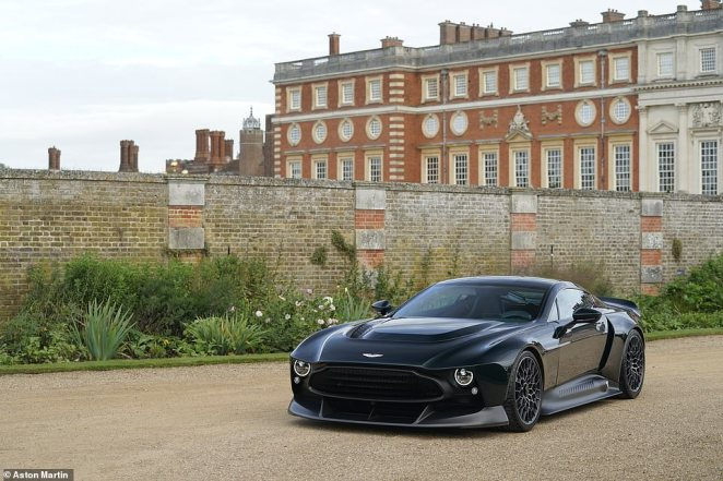 Aston Martin says the Victor is the most powerful road-going naturally aspirated product it has ever built and the highest performing stick-shift powertrain in the marque's history