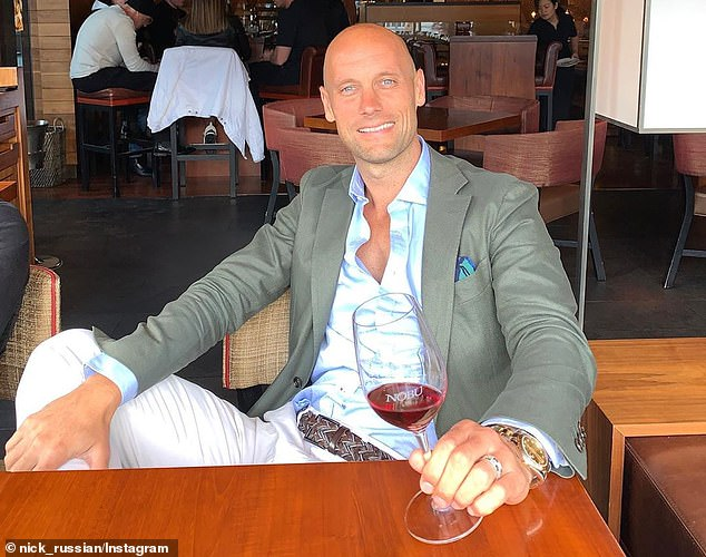 Mr Russian was reportedly called by 'senior people within the Liberal Party' who asked him to run for Lord Mayor of Melbourne on Wednesday night