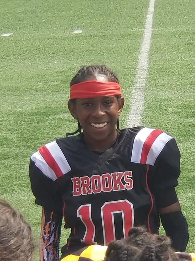 Elijah, who played for the Brooks Bears youth team in Atlanta, knelt on the field at the start of a game last month in a show of solidarity with the Black Lives Matter movement