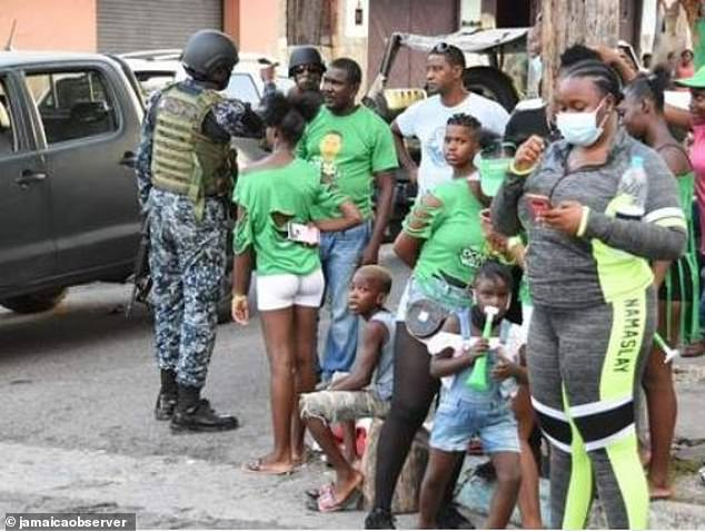 The shooting happened shortly after polls closed during the 2020 Jamaican general election