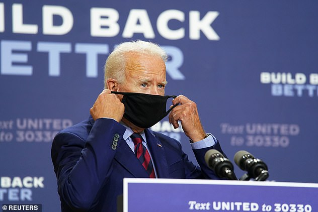 Joe Biden attacked President Trump in some of his harshest words to date, calling his reported comments on the troops 'sick, disgrace, deplorable, un-American, unpatriotic.'