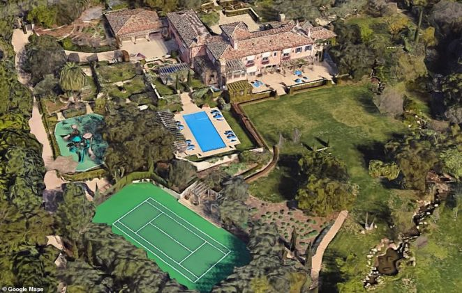 Harry and Meghan bought a nine-bedroom and 16-bathroom mansion in the secluded area of Riven Rock in upscale Montecito in June for $14.65M