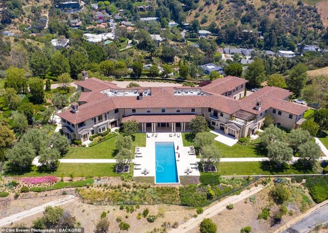 In May, DailyMailTV revealed Prince Harry and Meghan Markle had been living in this ultra-luxury Beverly Hills hideout that belonging to Perry