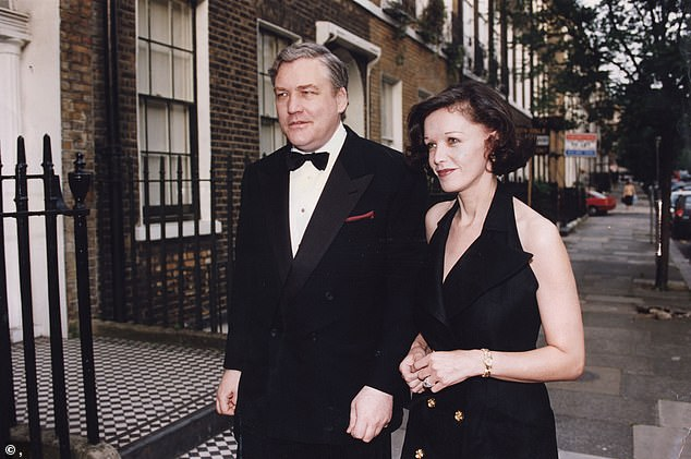 On the afternoon of October 29, 2003, my husband Conrad ¿ grey-faced with despair ¿ told me: ¿It¿s finished. This is the worst day of my life.¿ Pictured: Conrad Black with his wife Barbara Amiel
