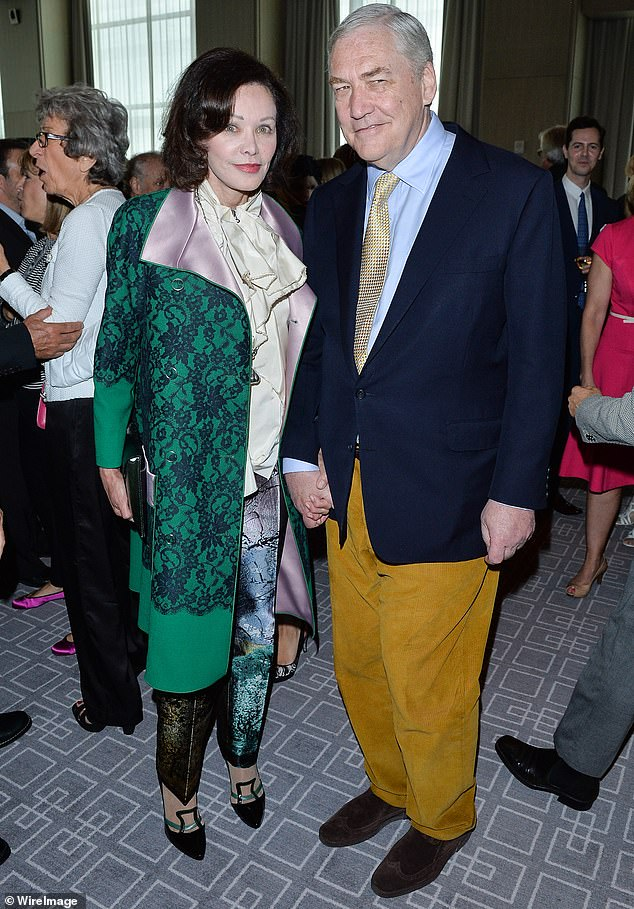 Conrad Black and Barbara Amiel attend the George Christy Luncheon during the 2013 Toronto International Film Festival