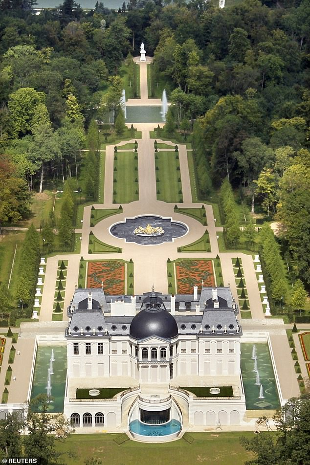 Bin Salman's Chateau Louis XIV, his £230million estate in Louveciennes, near Paris