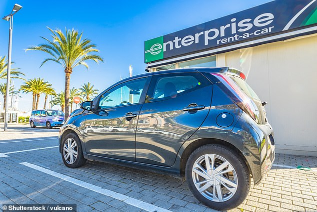 The lowest price from a car hire company was £115 with Enterprise, according to Which?