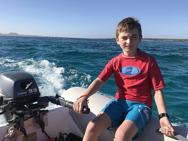 Four weeks ago,14-year-old music scholar Eddie Jarman was killed by a rented speedboat while snorkelling near the family's yacht off the French Polynesian island of Moorea, a few miles from Tahiti