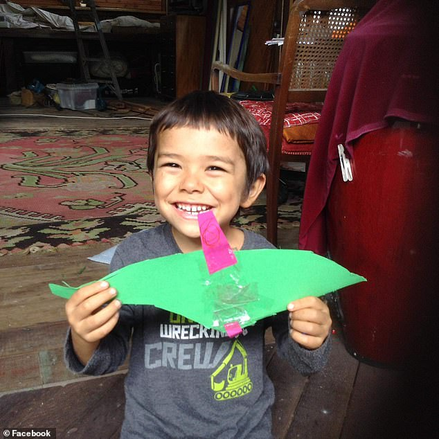 Koah, 4, (pictured) was killed by his dad in a horrific murder suicide in Queensland on Friday