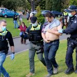 Cops swarm on anti-lockdown protesters in Melbourne for Freedom Day rally