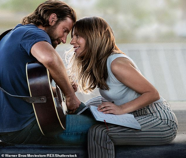 Acclaimed: Cooper and Lady Gaga won a BAFTA for Best Film Music and two Grammys for Best Pop Duo/Group Performance and Best Compilation Soundtrack for Visual Media for the song Shallow in A Star Is Born