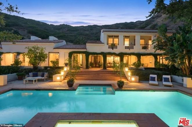 Living large: James Cameronrecently listed all 16,000 square feet (including 11 bedrooms, 10 bathrooms and three half bathrooms) of his sprawling Malibu compound for a whopping $25million