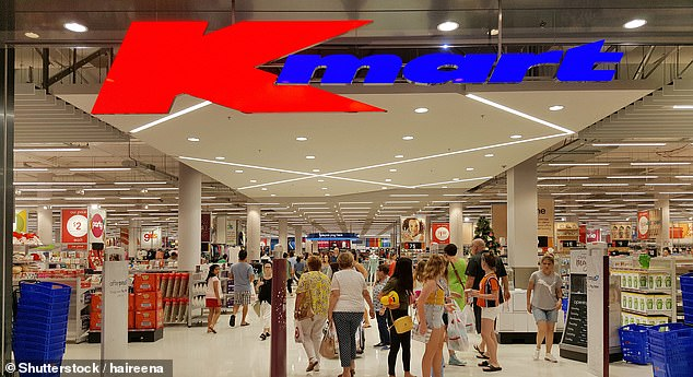 A Kmart worker stole at least $76,000 worth of products from the store so he could fund his gambling habit (stock image)