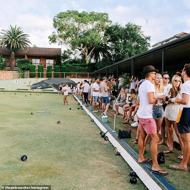 Liquor and Gaming NSW said in a statement on Saturday that inspectors visited the Bondi venue (pictured earlier this year) on August 29 and found multiple groups of more than 10 people, patrons freely mingling and drinking and no social distancing in bar queues
