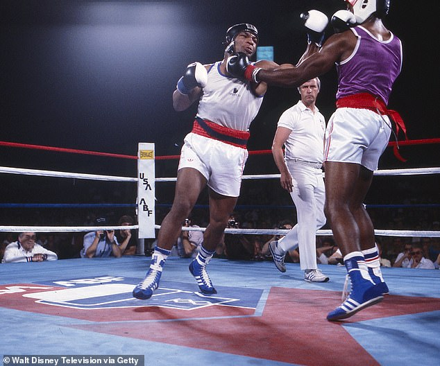 Mike Tyson (pictured left in 1984) admitted he had erections in the ring as a youngster