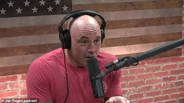 Podcast presenter Joe Rogan was stunned by the boxing legend's confession while on air