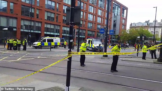 Officers are in attendance and several roads have been closed with a cordon remaining in place