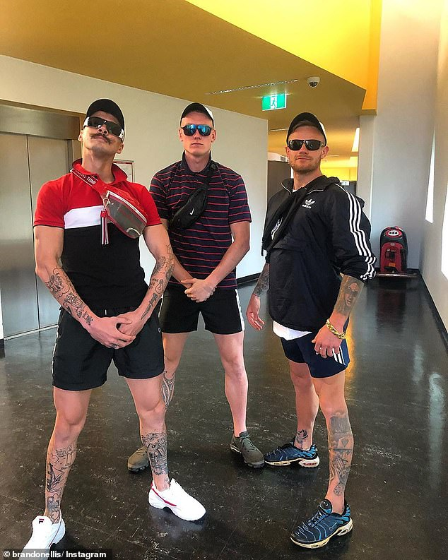 The AFL has officially banned Mad Monday celebrations in the Sunshine State only days after a punch up outside a Gold Coast kebab shop (Pictured: Richmond players Oleg Markov, Callum Moore and Brandon Ellis dress up for Mad Monday in 2019)