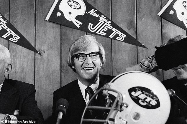 Holtz spent 34 years coaching both college and professional football teams. He coached the New York Jets in 1976