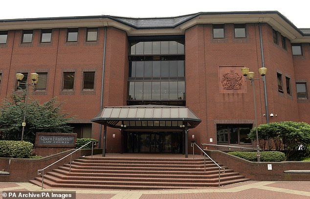 McSkimming admitted causing death by careless driving and was sentenced to six months in prison, suspended for two years,at Birmingham Crown Court (pictured)