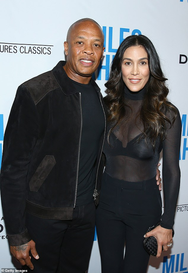 The breakdown: Nicole Young, 50, explained why she requested $2 million in monthly spousal support from her husband Dr. Dre, 55, in legal documents obtained by TMZ; shown in 2016