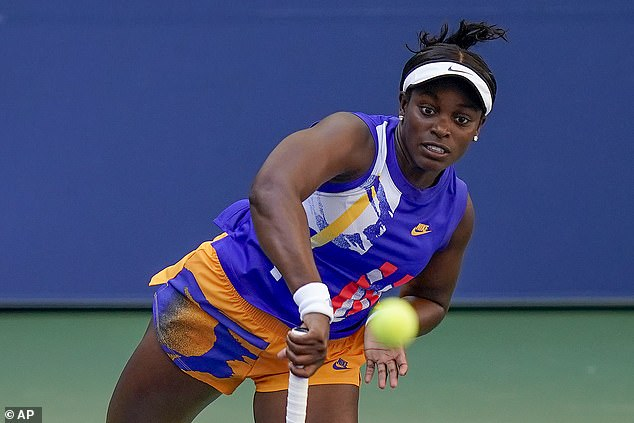 Stephens took the opening set 6-2 but could not keep her advantage over the six-time winner