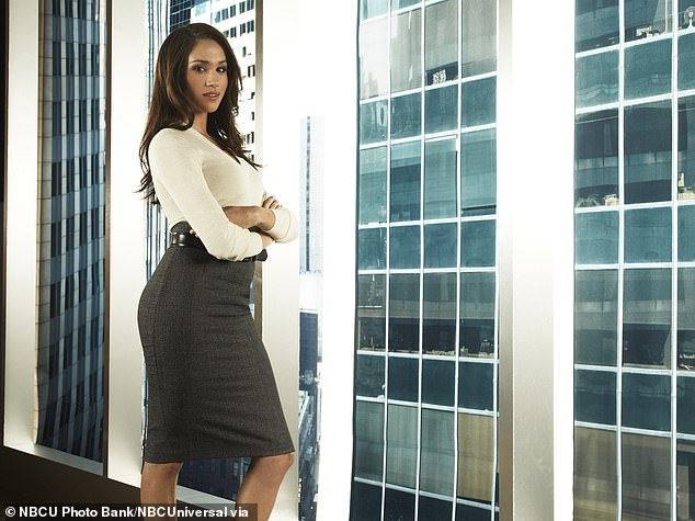 Pictured:Meghan Markle as Rachel Zane in 'Suits' Season 1, during her career as an actress