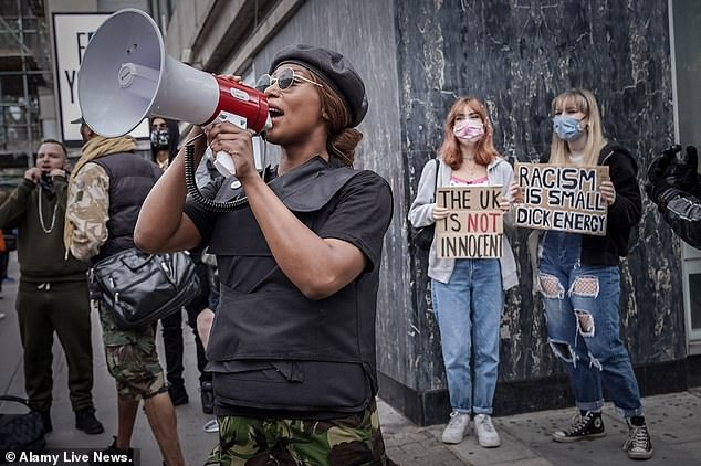 Sasha Johnson, who has been whipping crowds into a frenzy during recent protests, is among those spearheading the Taking The Initiative Party (TTIP)